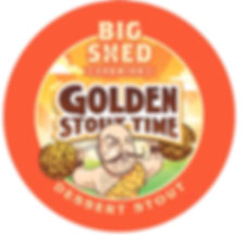 Big Shed Brewing Golden Stout Time