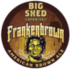 Big Shed Brewing FrankenBROWN