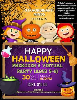 Copy of halloween flyer halloween happy