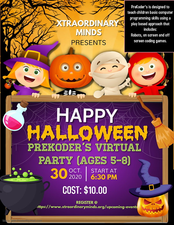 Copy of halloween flyer halloween happy