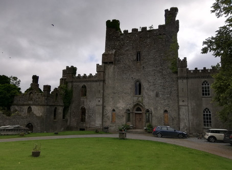 Chambers at Large in Leap Castle, Roscrea, County Offaly, Ireland.