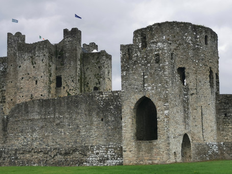 Chambers at Large in Trim Castle, Mellifont Abbey & Monasterboice on the Boyne Valley Drive, Ireland
