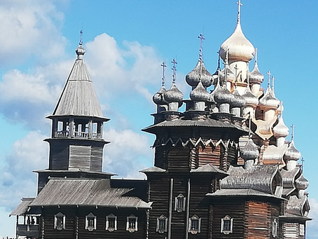 Chambers at Large in Kizhi, Russia