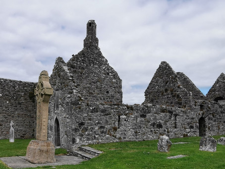 Chambers at Large in Clonmacnoise, County Offaly