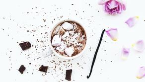 Chocolat chaud et chamallows