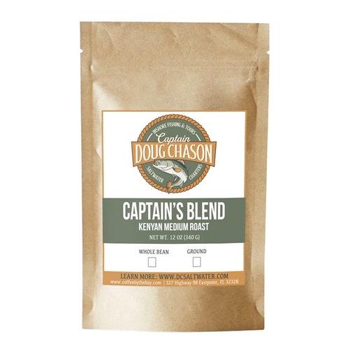 Captain Doug Chason Kenyan AA Fishing Coffee