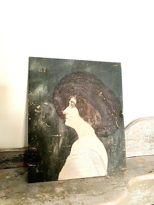 Peinture sur fer