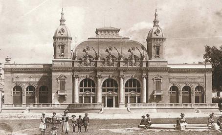 Théâtre Benno Besson à l'origine – façade ouest du Casino © TBB Yverdon-les-Bains