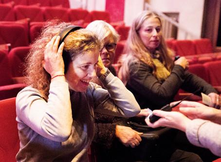 Spectacle audiodécrit et traduit en LSF : retour d'expérience au TBB