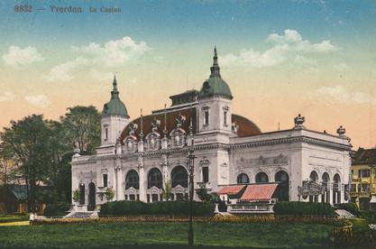 Théâtre Benno Besson à l'origine – façade est du Casino © TBB Yverdon-les-Bains