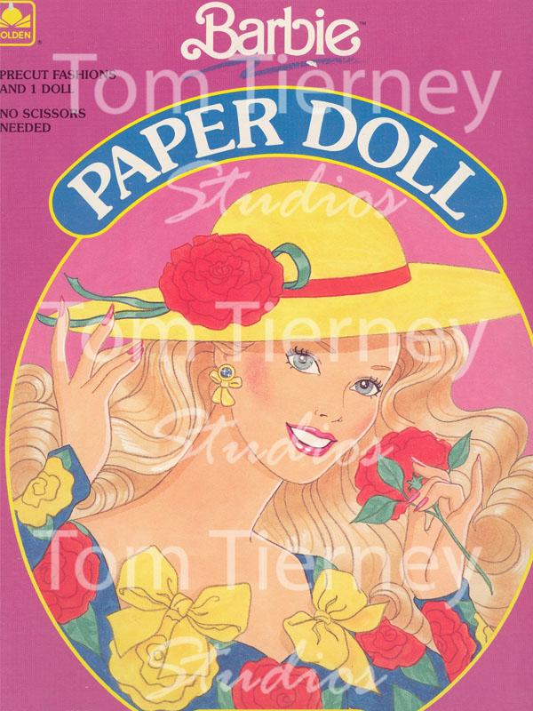 12-Barbie-RosesPaperDoll