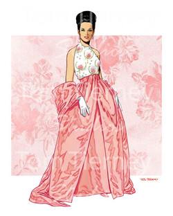 60s Pink Skirt