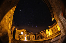 Vista nocturna: Casas Góriz y Ordesa