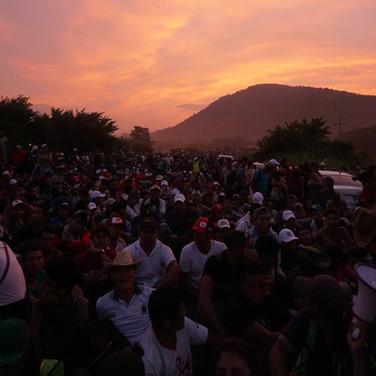 sunrise. Chiapas. 2018