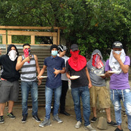 defending the barrio. Choloma. 2017