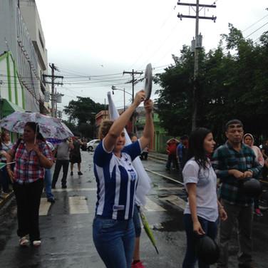 cacerolazo catracho. San Pedro Sula. 201
