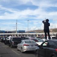 Military exercises at the border. Tijuana. 2018
