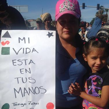 My life is in your hands. Tijuana. 2018