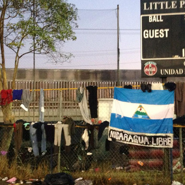 Nicaragua libre. Tijuana. 2018