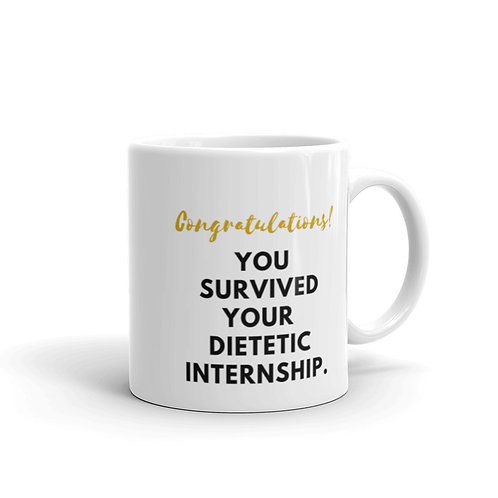 You Survived Your Dietetic Internship