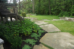 Landscape jumbo stone walkway - desi