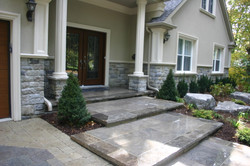 Natural Stone Steps and Borders