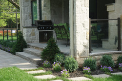 Outdoor Living natural stone patio