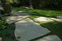 Oversize jumbo stepping stones