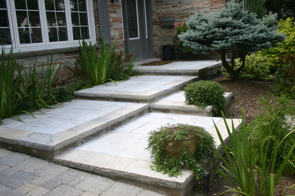 Natural Steps Front Entrance Project