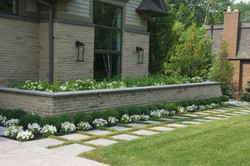Paver Walkways and Stone Walls