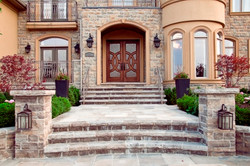 Natural Stone Steps and Columns