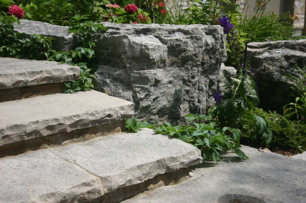 Natural Steps and Rockery
