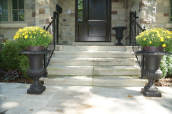 Natural Steps for Front Entry door
