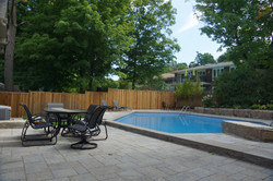 Residential Inground swimming pool