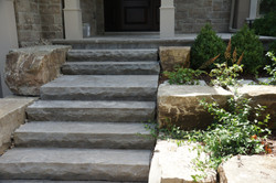 Image result for natural stone steps