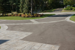 Best driveway with double border