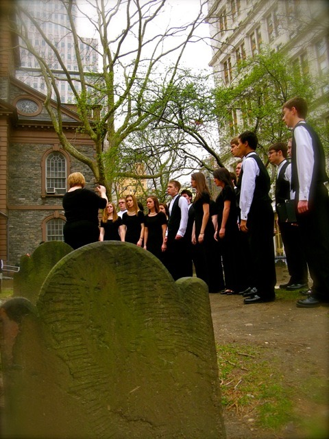 Singing a Requiem at Ground Zero