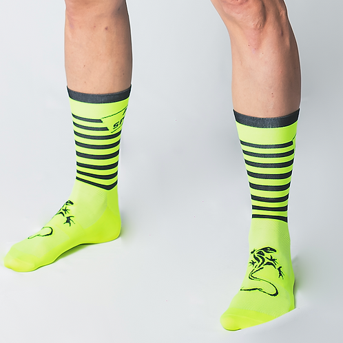Chaussettes Aerosporting - 2020 - Yellow fluo