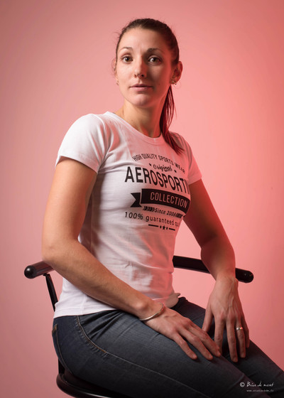 Tee shirt femme 100% coton personnalisable