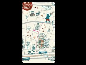 【訂正とお詫び】はじめてのハナクマMAPの地図内容について