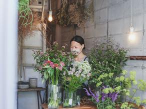 ハナクマ手帖 no.4|日常を優しく彩る生花店〈loji flower〉