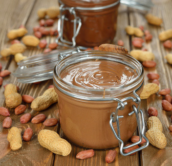 eating right: peanut butter