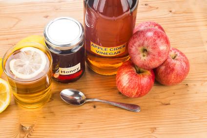 apple cider vinegar as antibiotic