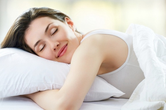 girl napping healthy