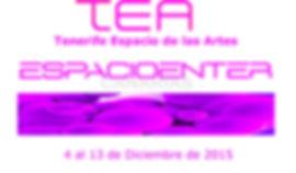 German Torres de Huertas. TEA Tenerife Espacio de las Artes. Germán Torres de huertas. Investigador en arte y artista multimedia. Master AVM Universidad Politécnica de Valencia.