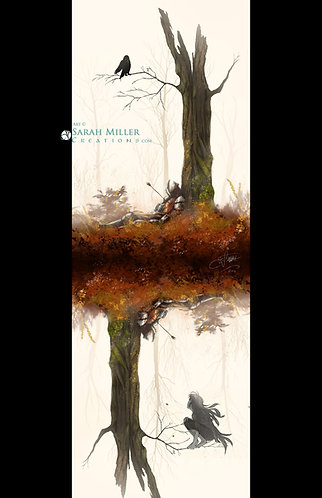 """Crow & Arrow 11""""x17"""" Poster"""