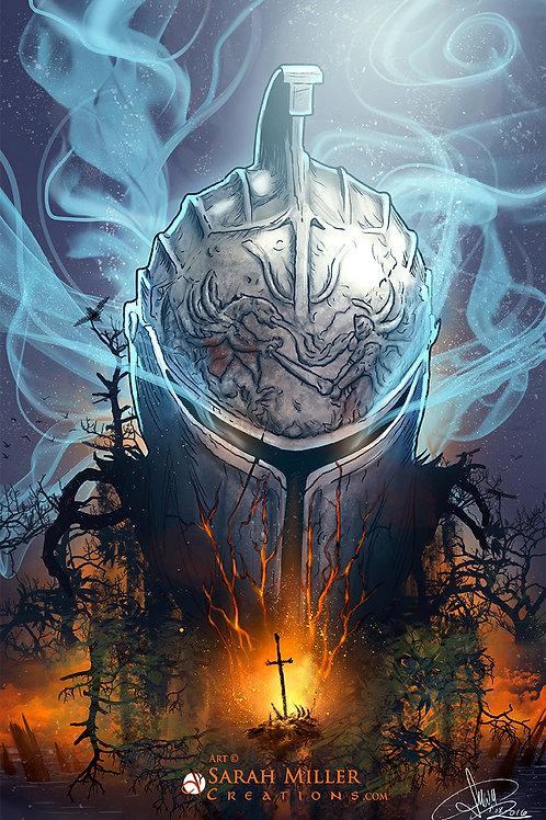 "Dark Souls 11""x17"" Poster"