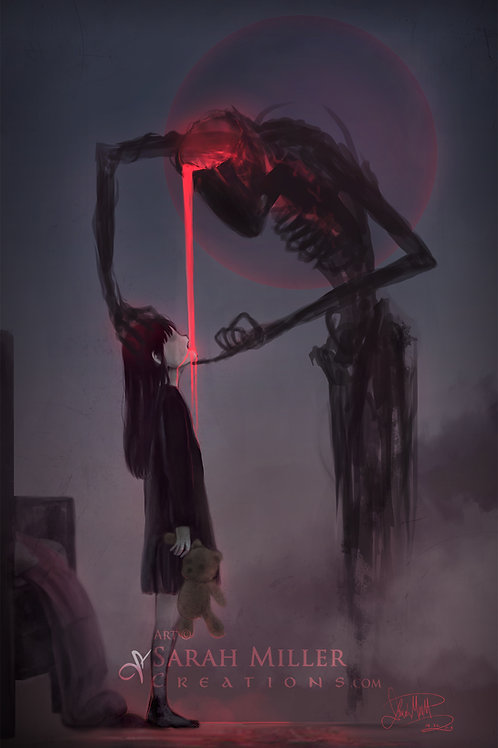 "Night Terrors 12""x18"" Poster"