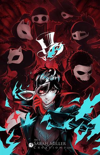 """Phantom Thieves 12""""x18"""" Poster"""