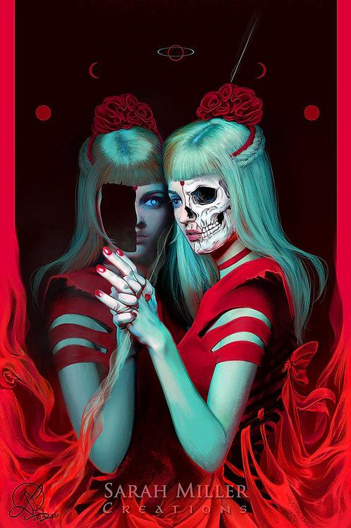 "Mirror Mine 12""x18"" Poster"